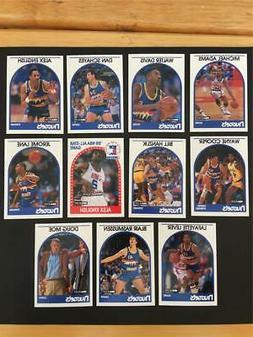 1989/90 NBA Hoops Denver Nuggets Team Set 11 Cards