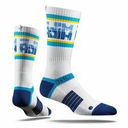 Strideline 2.0 Denver Nuggets Mile High City Crew socks