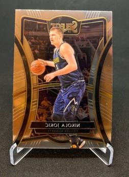 2019-20 Select Base Set Premier Level #107 Nikola Jokic - De