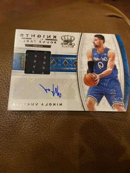 2019-20 Panini Crown Royale Nikola Vucevic Auto #/99 Knights