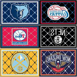 NBA BASKETBALL Extra-Large AREA RUG - 5x7 XL Rectangle Sport