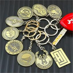 Basketball Sport NBA Team LOGO Chain Basketball Souvenir Pen