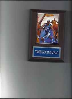 CARMELO ANTHONY PLAQUE DENVER NUGGETS BASKETBALL NBA