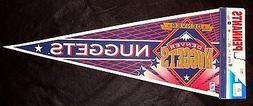 CIRCA 1994-95 DENVER NUGGETS FULL-SIZE NBA WINCRAFT SOUVENIR