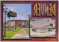 Continental Postcard, Pepsi Center, Denver, Colorado Avalanc