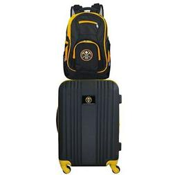 Denver Nuggets 2-Piece Luggage & Backpack Set - Black
