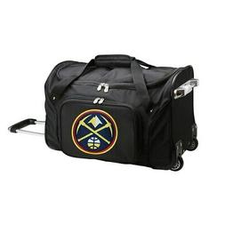 "Denver Nuggets 22"" 2-Wheeled Duffel Bag - Black"
