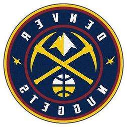 "Denver Nuggets 27"" Roundel Area Rug Floor Mat"