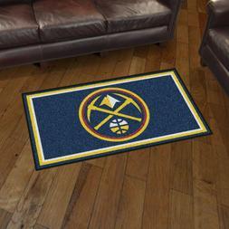Denver Nuggets 3' X 5' Decorative Ultra Plush Carpet Area Ru