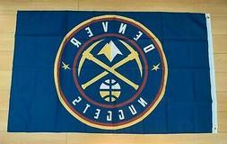 Denver Nuggets 3x5 ft Flag NBA