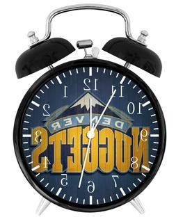 Denver Nuggets Alarm Desk Clock Home or Office Decor F67 Nic