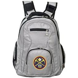 Denver Nuggets Backpack Laptop - Gray