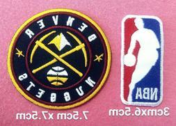 Denver Nuggets Basketball set2pcs patch sport Embroidery iro