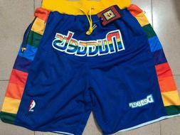 Denver Nuggets Basketball Shorts with Pockets