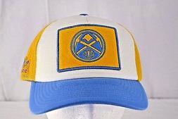 Denver Nuggets Blue/Yellow/White Baseball Cap Snapback