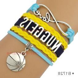 Denver Nuggets Bracelet NBA Basketball Quality Fast Ship USA