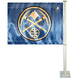 Denver Nuggets Car Auto Window Flag