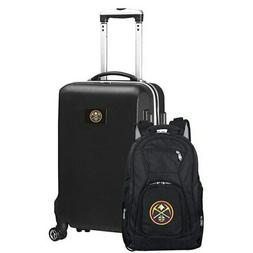 Denver Nuggets Deluxe 2-Piece Backpack and Carry-On Set - Bl