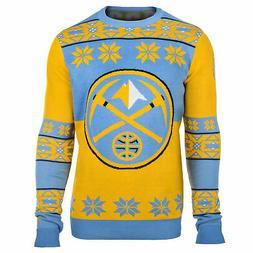 Denver Nuggets: Denver Nuggets Big Logo NBA Ugly Sweater