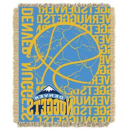 THE NORTHWEST COMPANY DENVER NUGGETS DOUBLE PLAY WOVEN JACQU