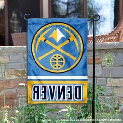 Denver Nuggets Garden Flag and Yard Banner