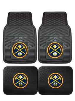 Denver Nuggets Heavy Duty Vinyl Car, Truck, SUV Auto Floor M