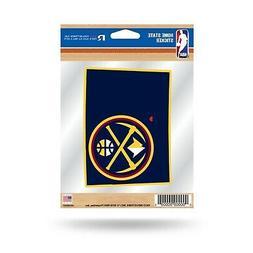 Denver Nuggets Home State Sticker Flat Die Cut Decal Emblem