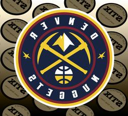 denver nuggets logo nba color die cut