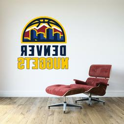 Denver Nuggets Logo Wall Decal Basketball NBA Decor Sport Ar