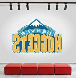 Denver Nuggets Logo Wall Decal Sports Window Sticker Decor V