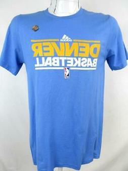 Denver Nuggets Mens Small Screened Denver Basketball T-shirt