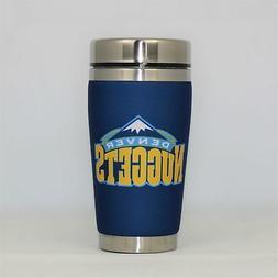 Denver Nuggets Mugzie NBA 16oz Travel Tumbler Coffee Mug Cup