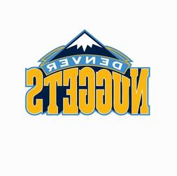 Denver Nuggets NBA Basketball Color Logo Sports Decal Sticke