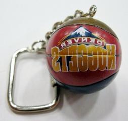 Denver Nuggets NBA Basketball Key Ring by J.F. Sports