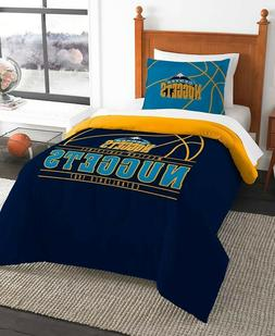 Denver Nuggets NBA Basketball Twin Comforter & Pillow Sham 2