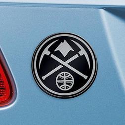 Denver Nuggets NBA Chrome Car Emblem