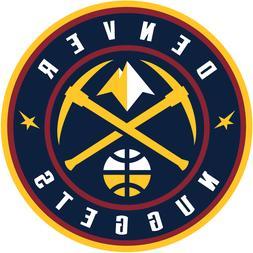 Denver Nuggets NBA Color Die-Cut Decal / Auto Sticker *Free