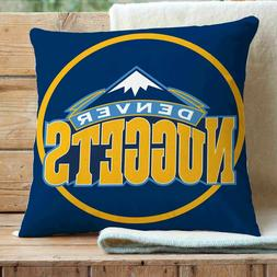 Denver Nuggets NBA Custom Pillows Car Sofa Bed Decor Cushion