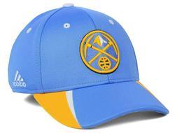 DENVER NUGGETS - NBA ADIDAS - Fastbreak Flex Fitted Hat BLUE