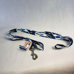Denver Nuggets NBA Licensed Large 6 foot Dog Pet Leash Nylon