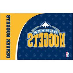 Denver Nuggets NBA Licensed Neoprene Pet Bowl Mat