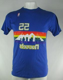 Denver Nuggets NBA Mitchell & Ness #55 Dikembe Motumbo Men's