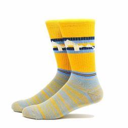Denver Nuggets NBA Murray Jokic Mile High City Crew Socks Me
