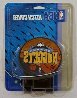 "Denver Nuggets NBA Plastic Trailer Hitch Cover for 2"" receiv"