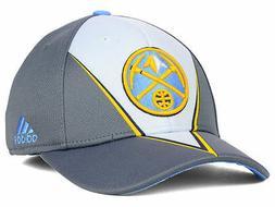 Denver Nuggets adidas NBA Slasher Men's Flex Fitted Cap Hat