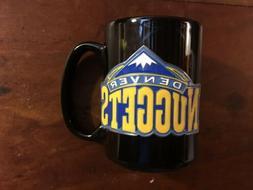 Denver Nuggets NBA Team Logo Ceramic Coffee Mug Holds 16 Oun