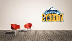 Denver Nuggets NBA  Wall Decal  Home Decor Vinyl Sticker