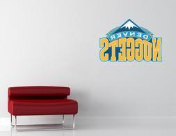 Denver Nuggets NBA Wall Decal Vinyl Sticker Decor Basketball