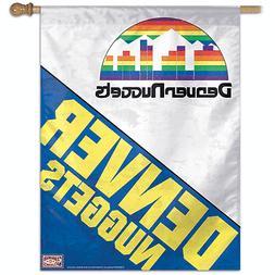 DENVER NUGGETS ~  Official NBA 27x37 Outdoor House Flag Bann