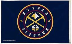 Denver Nuggets Premium 3x5 Flag w/Grommets Outdoor House Ban